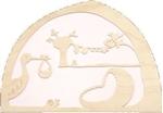 Image de Silhouet Geboorte Roze de Noest