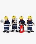 Bild von Brandweermannen Tidlo buigpoppetjes poppenhuispoppetjes