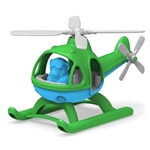 Picture of Helicopter groene top - recycled plastic - Greentoys
