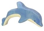 Bild von Dolfijn springend Holztiger