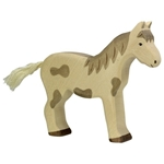 Image de Holztiger - Paard staand gevlekt