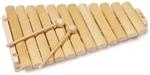 Afbeeldingen van Xylofoon 12 tonig  Blank beukenhout