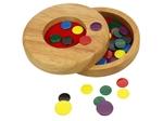 Afbeeldingen van Vlooienspel in houten doosje Bigjigs