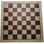 Picture of Schaakbord ingelegd Mahonie/Ahorn 54 cm