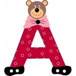 Image de Gekleurde beren letter A