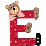 Image de Gekleurde beren letter E