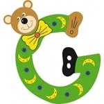Image de Gekleurde beren letter G