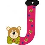 Image de Gekleurde beren letter J