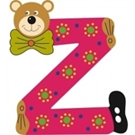 Image de Gekleurde beren letter Z