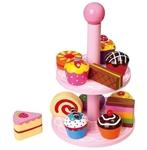 Bild von Etagere met taartjes