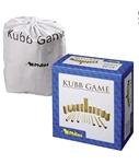 Afbeeldingen van Kubb werpspel Berkenhout koning 30 cm