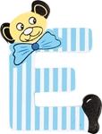 Image de kleine beren letter E