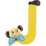 Image de kleine beren letter J