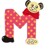 Picture of kleine beren letter M