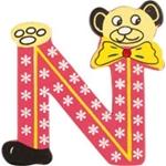 Image de kleine beren letter N