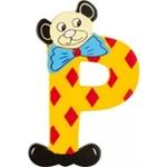 Image de kleine beren letter P