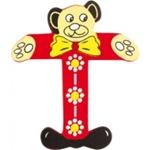 Image de kleine beren letter T