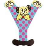 Image de kleine beren letter Y