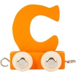 Afbeeldingen van Lettertrein gekleurd C