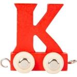 Afbeeldingen van Lettertrein gekleurd K