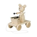 Bild von Trekfiguur beer met xylofoon blank