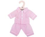 Afbeeldingen van Poppenkleding Pyjama roze (M) 30cm Bigjigs