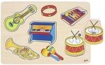 Picture of Geluidpuzzel Muziekinstrumenten