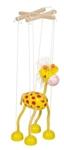 Afbeeldingen van Marionette Giraffe Hout GOKI
