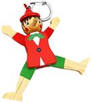 Image de Pinokkio sleutelhanger