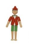 Image de Pinokkio hout beweegbaar 10 cm Sevi