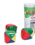 Afbeeldingen van Jongleerballen set van 3 klein gekleurde ballen