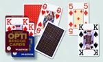 Afbeeldingen van Speelkaarten OPTI Bridge Grote cijfers
