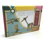 Picture of Mini box 10 bouwplankjes als Kapla met  56 join clips