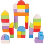 Picture of Houten blokken kliksysteem gekleurd 40 stuks Bigjigs