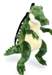 Picture of Kinder-rugzak pluche Krokodil groen