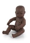 Afbeeldingen van Badpop Babypop Afrikaanse jongen