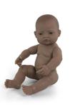 Afbeeldingen van Badpop - Babypop Latijns Amerikaans meisje 40cm waterdicht