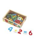 Afbeeldingen van Magneet cijfers hout