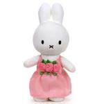 Afbeeldingen van Nijntje 24 cm roze jurk met roosjes
