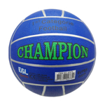 Picture of Voetbal rubber Champion Blauw 380 gram