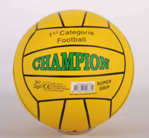 Picture of Voetbal rubber Champion Geel 380 gram