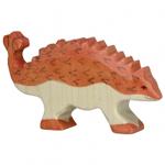 Afbeeldingen van Ankylosaurus dino Holztiger