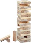 Afbeeldingen van Blokkentoren stapelspel 56 blokjes Philos
