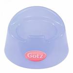 Afbeeldingen van Gotz Potje transparant blauw 11 cm