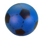 Bild von Voetbal foam Blauw 20 cm