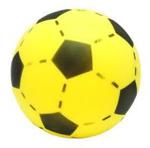 Afbeeldingen van Voetbal foam Geel 20 cm