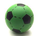 Afbeeldingen van Voetbal foam Groen 20 cm