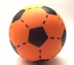 Afbeeldingen van Voetbal foam Oranje 20cm