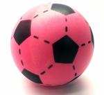 Bild von Voetbal foam roze 20 cm