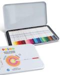 Afbeeldingen van 36 kleurpotloden in blik Primo